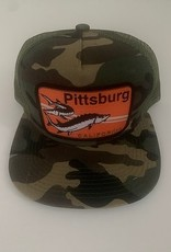 Venture Pittsburg Camo Townie Trucker