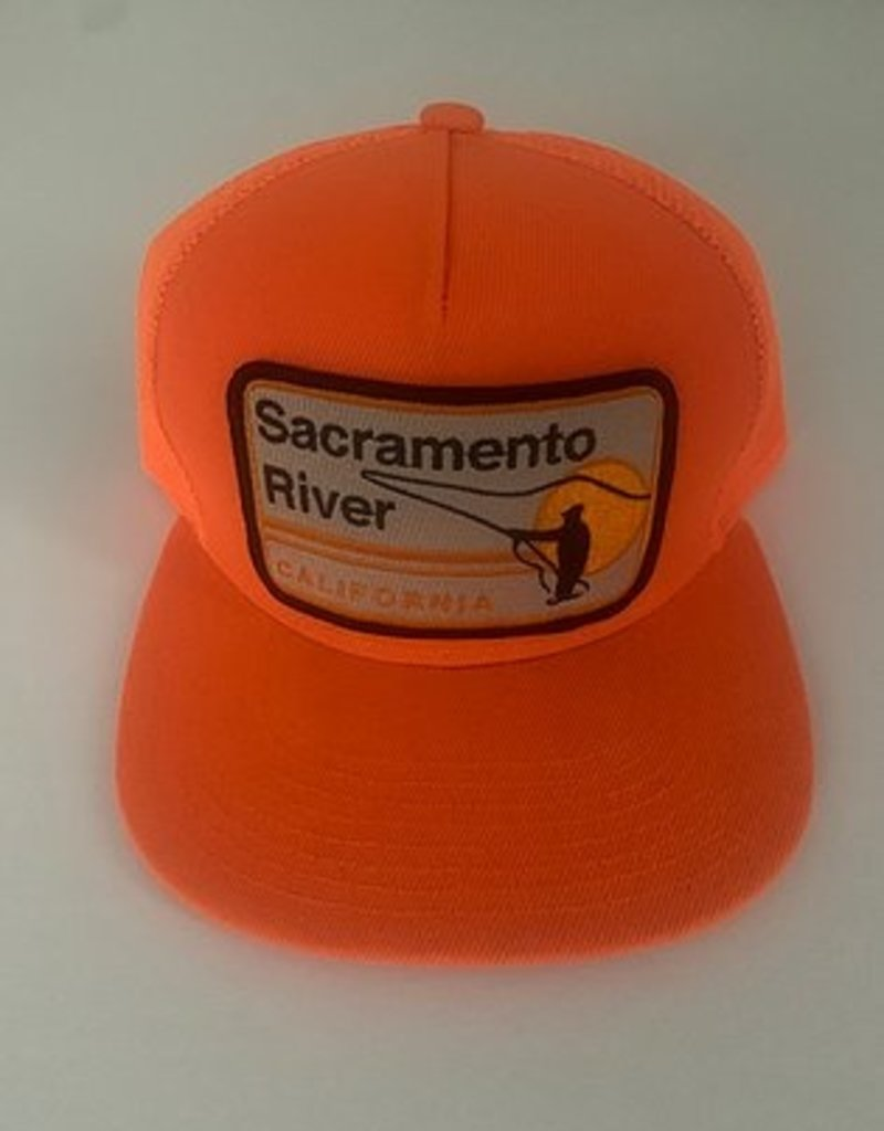 Venture Sacramento River Orange Townie Trucker