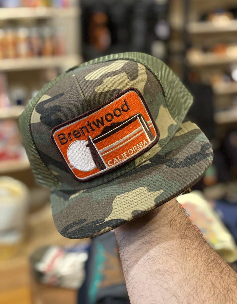 Venture Brentwood Camo Townie Trucker