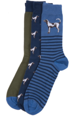 Barbour Dog Mixed Socks