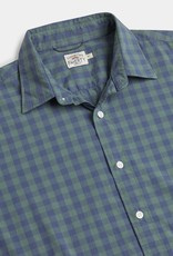 Faherty Movement Shirt Forest Gingham