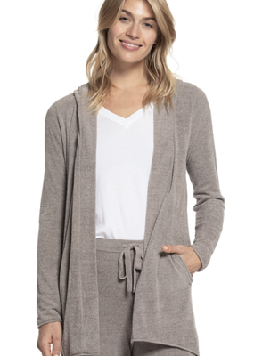Barefoot Dreams CCUL Hooded Cardi