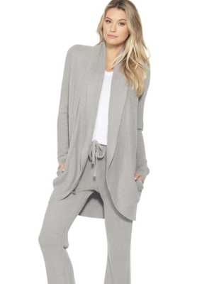 Barefoot Dreams CCL Heathered Circle Cardigan