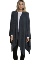 Barefoot Dreams CCL Heathered Weekend Wrap