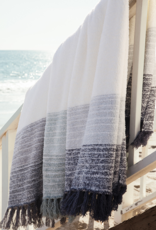 Barefoot Dreams Horizon Blanket Pacific Blue