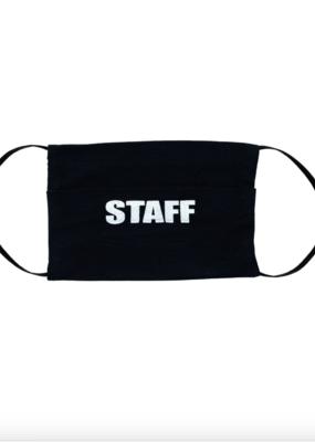 Black Staff Mask