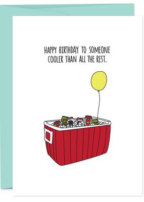 Humdrum Paper Birthday Cooler