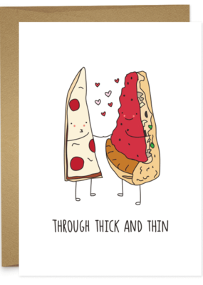 Humdrum Paper Thick and Thin Pizza
