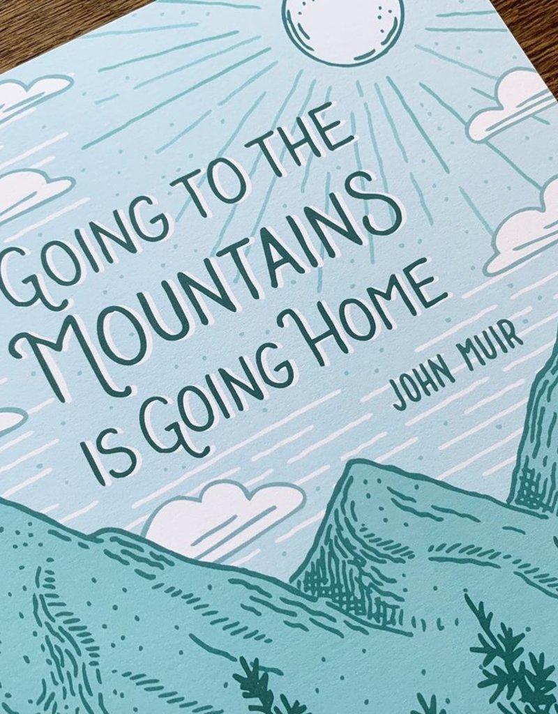 Noteworthy Paper and Press John Muir Art Print