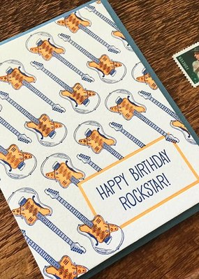 Noteworthy Paper and Press Birthday Rockstar Card