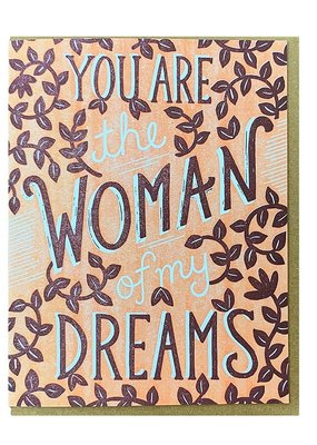Noteworthy Paper and Press Dream Woman Card