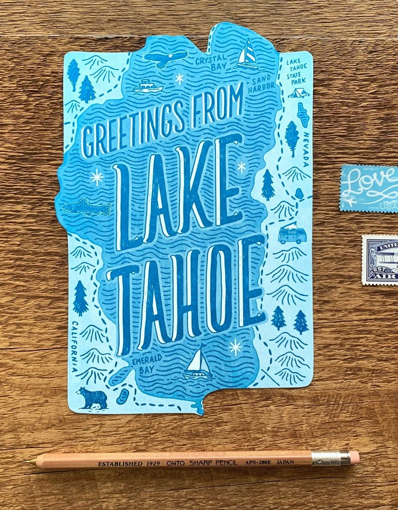 Lake Tahoe Postcard