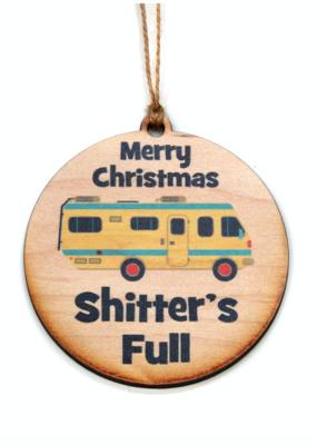 Driftless Studios Shitter's Full Ornament