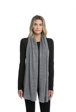 Barefoot Dreams CCL Heathered Ribbed Scarf