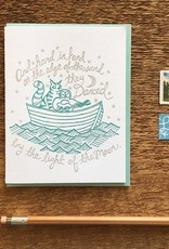 Noteworthy Paper and Press Hand in Hand Card