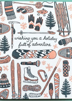 Holiday Sports Card