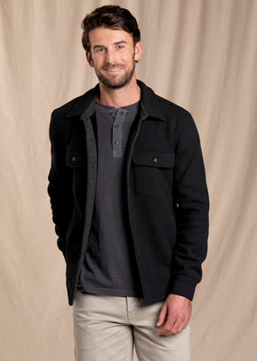 Toad & Co. Flatlander Shirt Jacket- Black