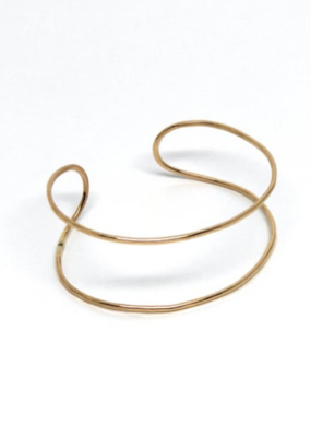 Double Cuff Gold Fill