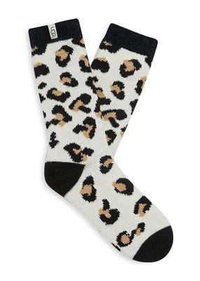 Ugg Amphora Leopard Socks