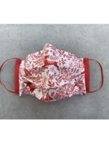 Husch Red Reindeer Christmas Mask