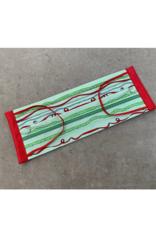 Husch Green Ribbon Christmas Mask