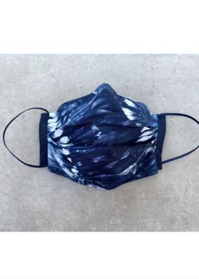 Blue Tie Dye Mask