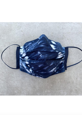 Husch Blue Tie Dye Mask