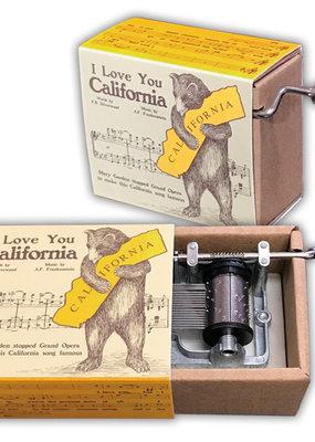 "Music Box ""I Love You CA"""