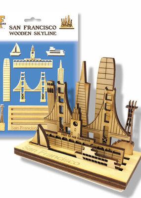Mini SF Wooden Skyline