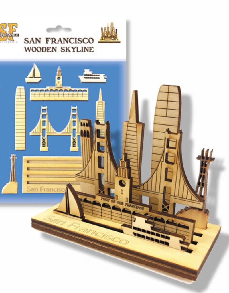 Mini SF Wooden Skyline