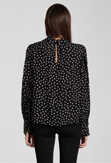 Sanctuary Bliss Blouse- Latte Dot