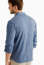 Johnnie-O Elliot Shirt Indigo
