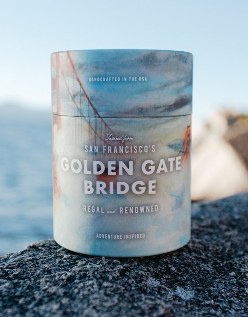 Golden Gate Bridge Candle