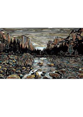 "3 Fish Studios Yosemite Print 14""x24"""