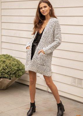 Hem & Thread Nubby Sweater Cardigan
