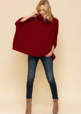 Hem & Thread Nubby Dolman Sleeve Sweater