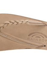Rainbow Flirty Braidy Leather Sierra Brown