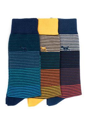 Rodd & Gunn Harrington Road 3 Pack Sock