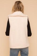 Sherpa Vest with Pockets