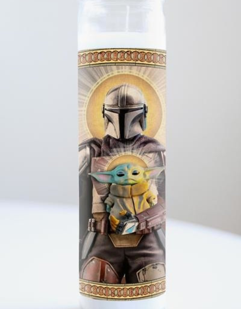 The Mandalorian Candle