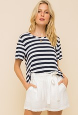 Round Neck Loose Fit Top