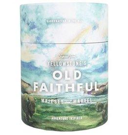 Old Faithful Candle