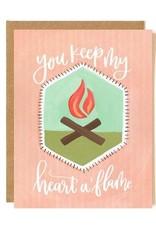 Heart A Flame Card