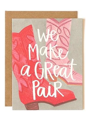 Make A Great Pair Card