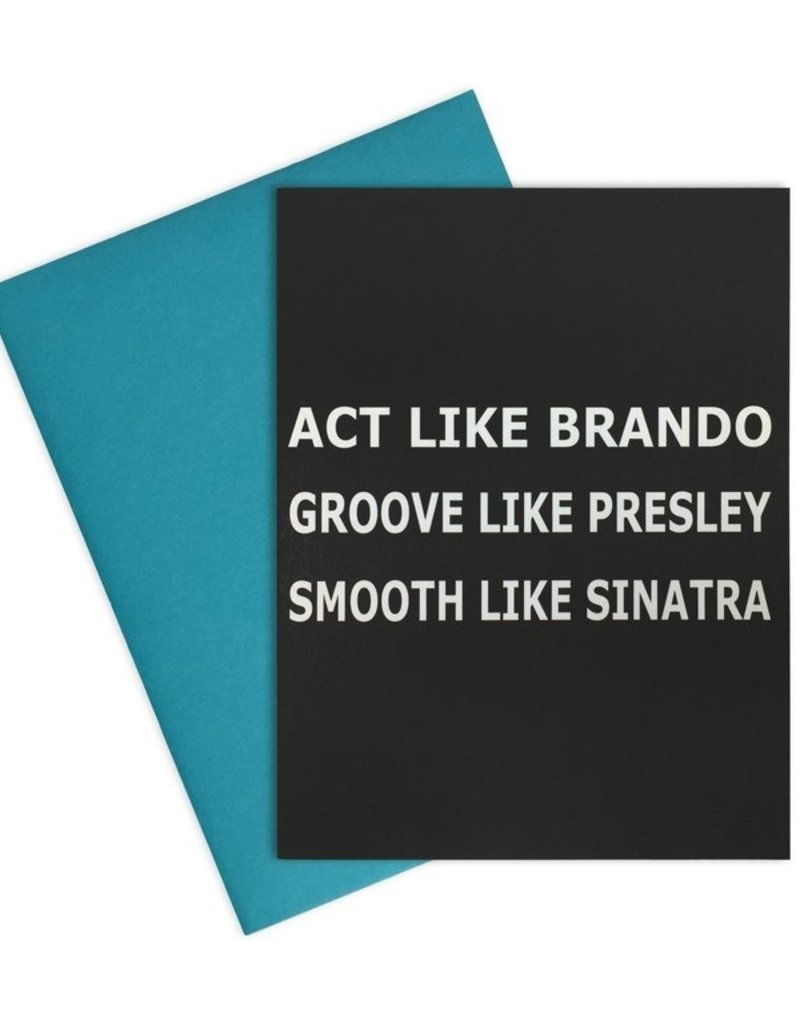 Act Like Bando Card