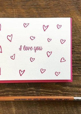 Noteworthy Paper and Press Love You Card