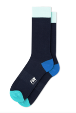 Fun Socks Classic Crew Navy/Green