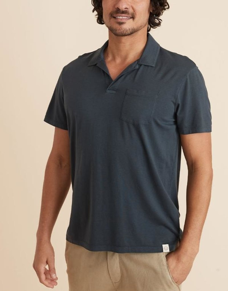 Marine Layer Dye Resort Polo