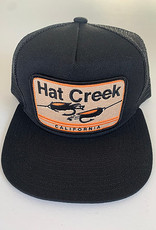 Bart Bridge Hat Creek Black Townie Trucker