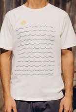 Mollusk Surf Shop Here Comes The Ocean Tee